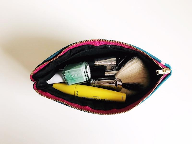 Makeup Bag Organizer - Womens Silhouettes Print