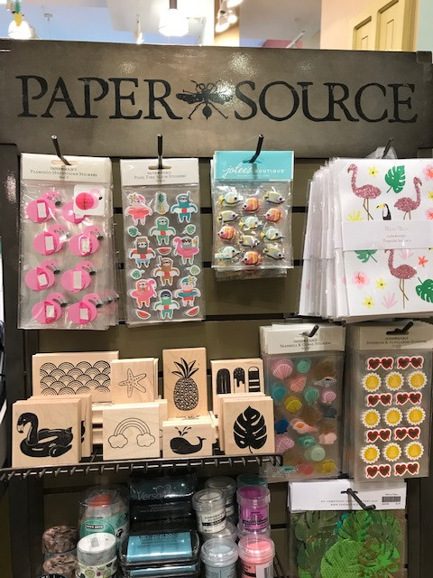 Handmade Card Making Supplies at the Paper Source