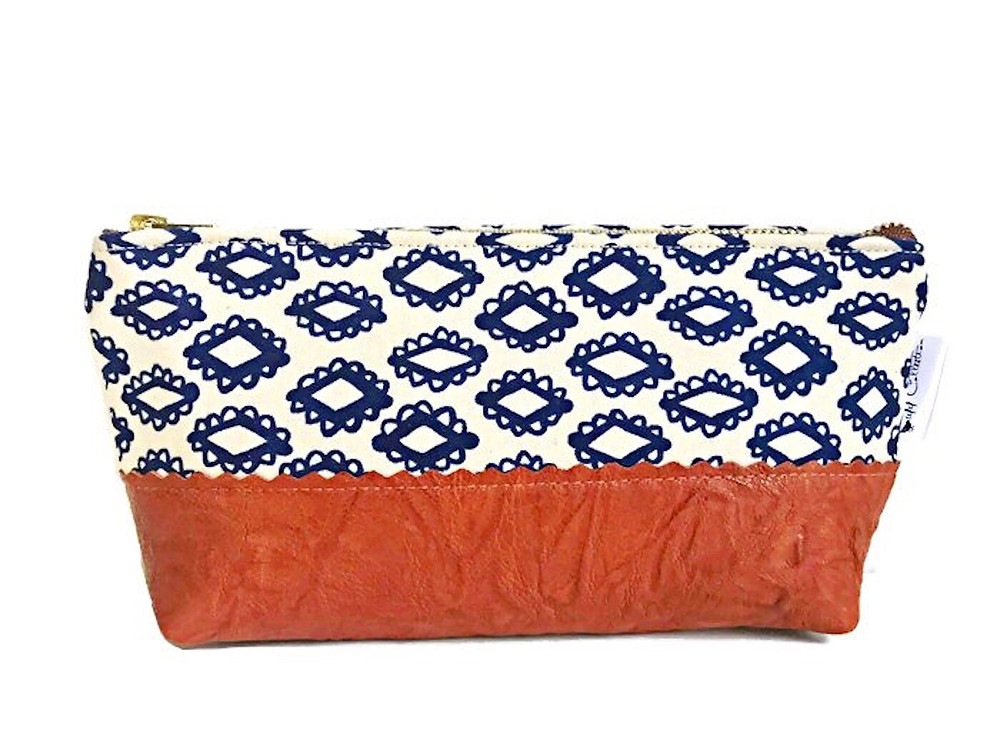 Cosmetic Bags for Purse - Blue