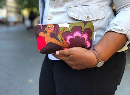 Small Cute Makeup Bags: Afro Girls