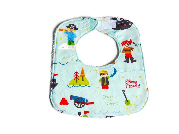 Best Baby Bibs for Drooling - Pirates