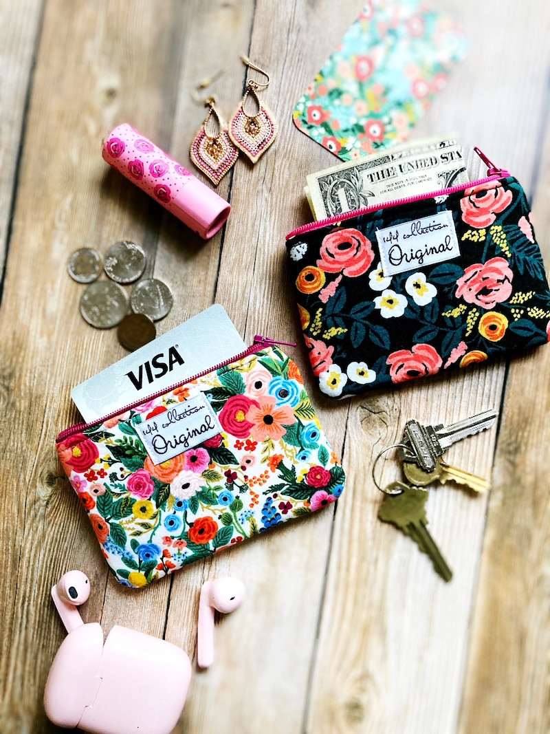 floral_zipper_change_purses_handmade_wallet