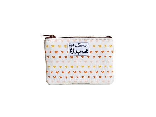 love hearts change purse