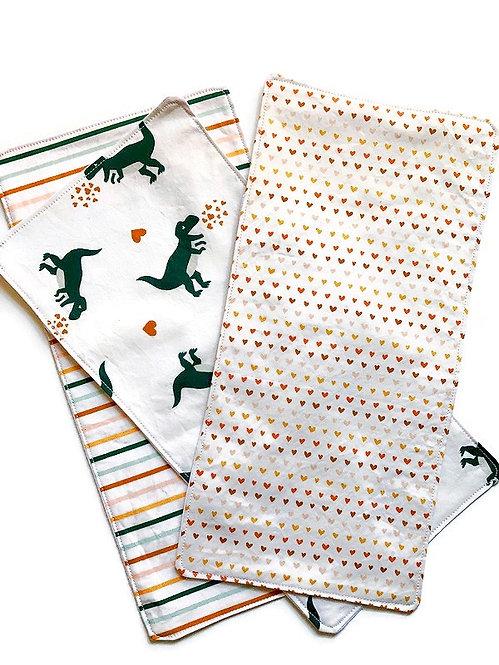 baby-burp-cloths-dinosaur-love