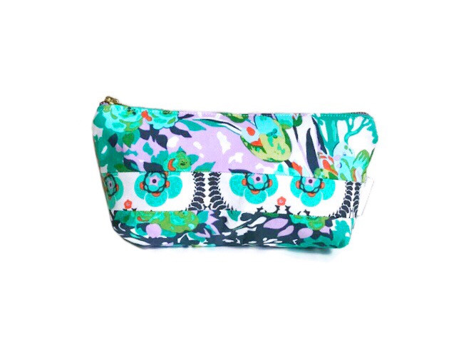 Cosmetic Bags for Purse - floral print bag