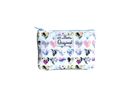 Coin Purse Wallet - Marble Hearts