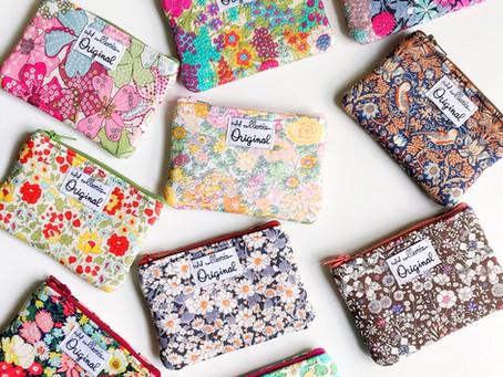 Coin Purse Wallets – Loving Liberty of London Fabrics