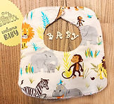 Wild Jungle Baby Bib.jpg