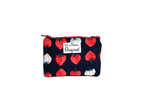 Strawberry Coin Purse Wallet