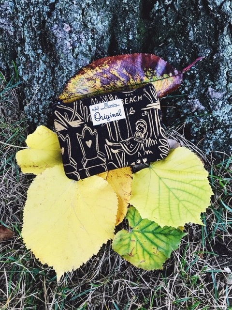 small coin purse - alice in wonderland inspired
