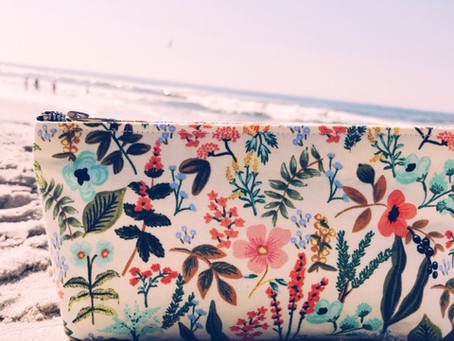 Summer Makeup Bags Perfect for Travel