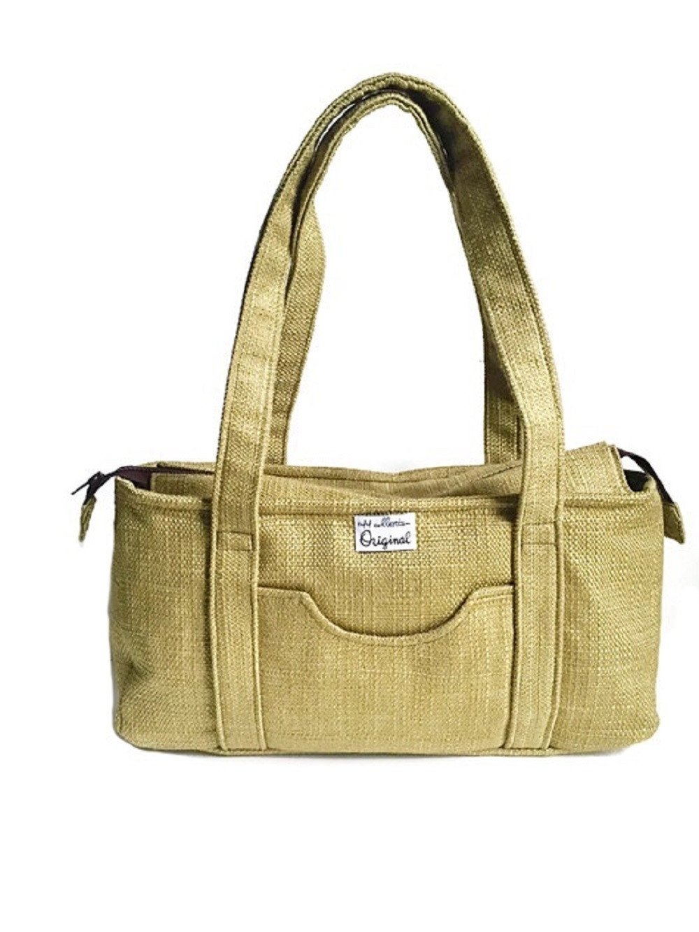 Fabric Handbags Made in the USA - Green Shoulder Bag for Women