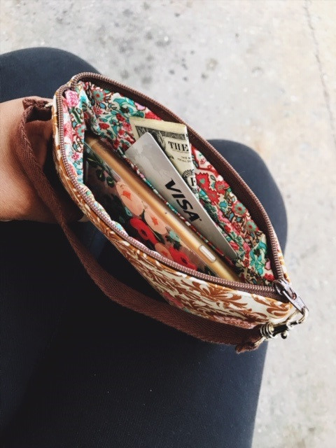 American Made Wallets - Slotted Pockets Inside View