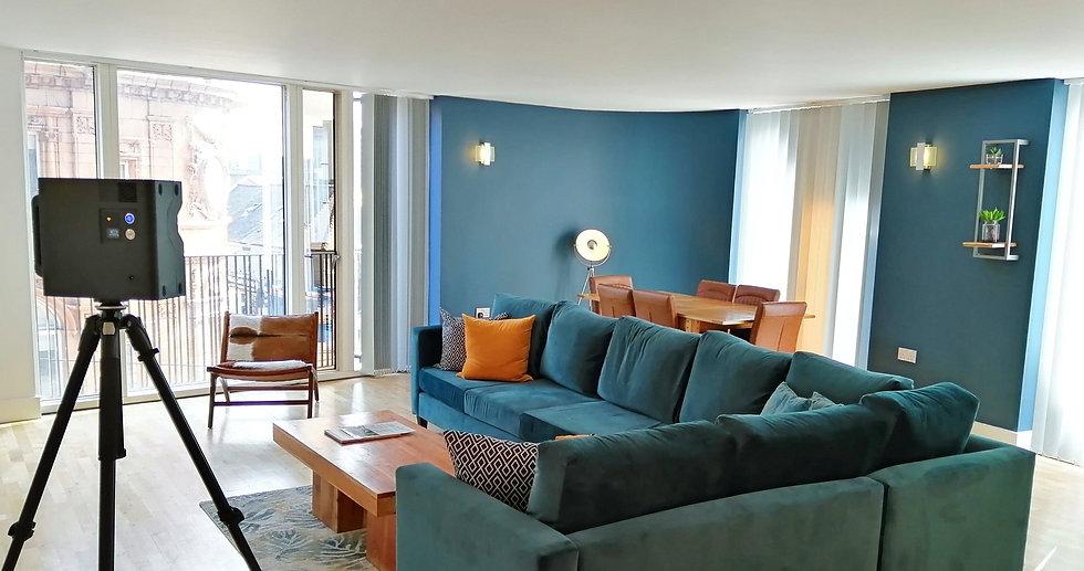 Luxury apartment virtual tour. 3d vitural tour. matterport. sheffield, yorkshire virtual tour.