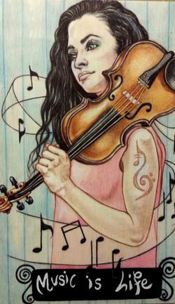 María Beato Violinista