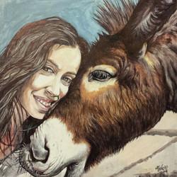 Lola y el burro