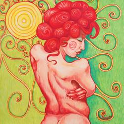 Desnuda al Sol