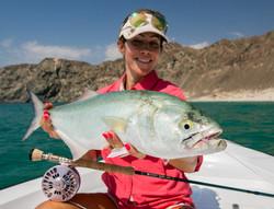 fishing Oman, Arabian Fly, bluefish