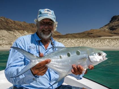 fishing Oman, Arabian Fly, pompano