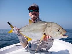 fishing Oman, Arabian Fly, trevally