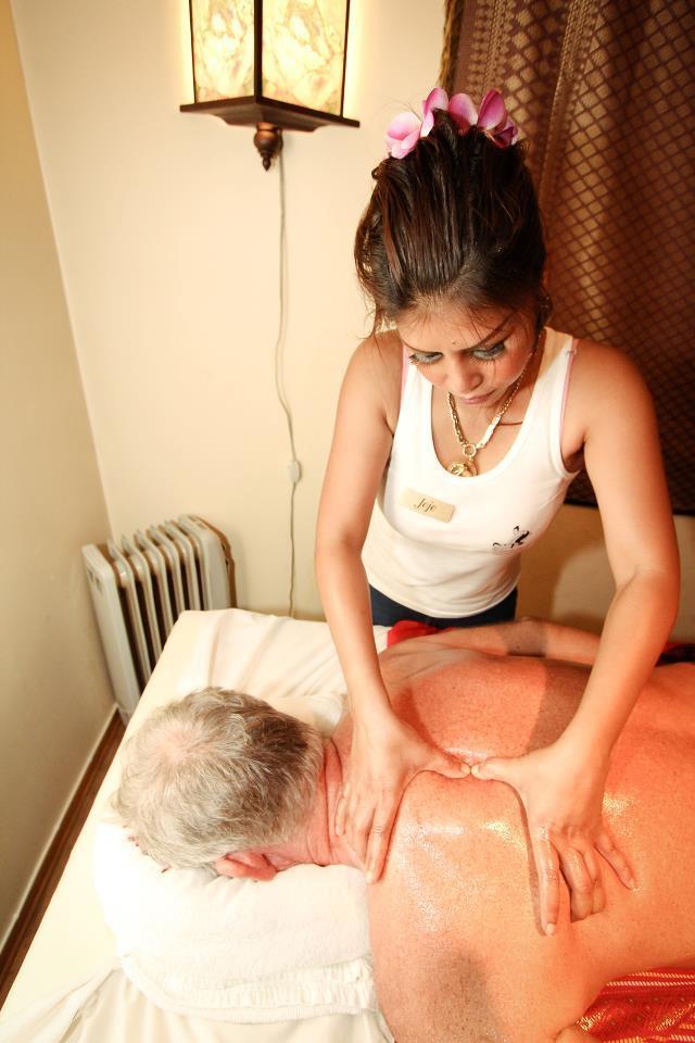 1 Stunde Aroma-Öl Relax-Massage