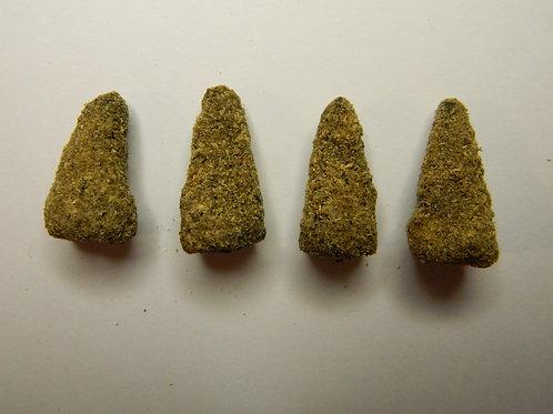 10 Frankinense Earth Incense Cones