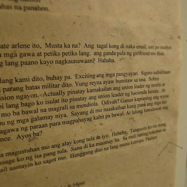Liham Para Kay Leslie (Letter for Leslie)