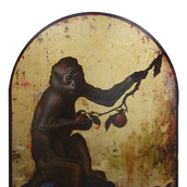 Another Monkey (After George Stubbs)