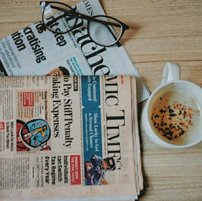 That cup of coffee and the crumbled newspaper still await your presnce.