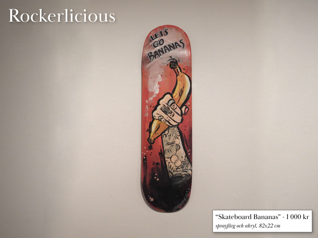 """Skateboard Bananas"""