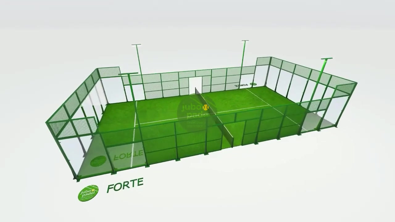 FORTE padel court JUBO PADEL.mp4