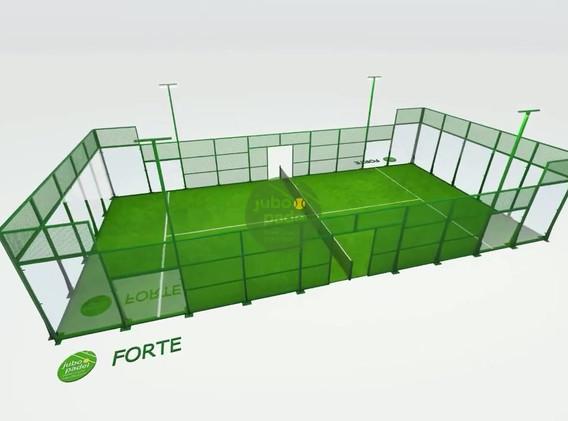 FORTE padel court JUBO PADEL.mp4
