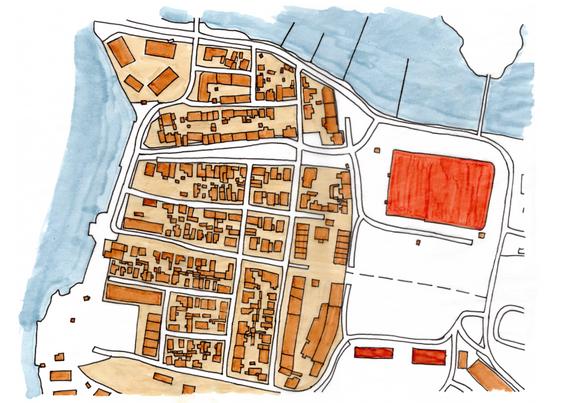 Björkholmen, planritning
