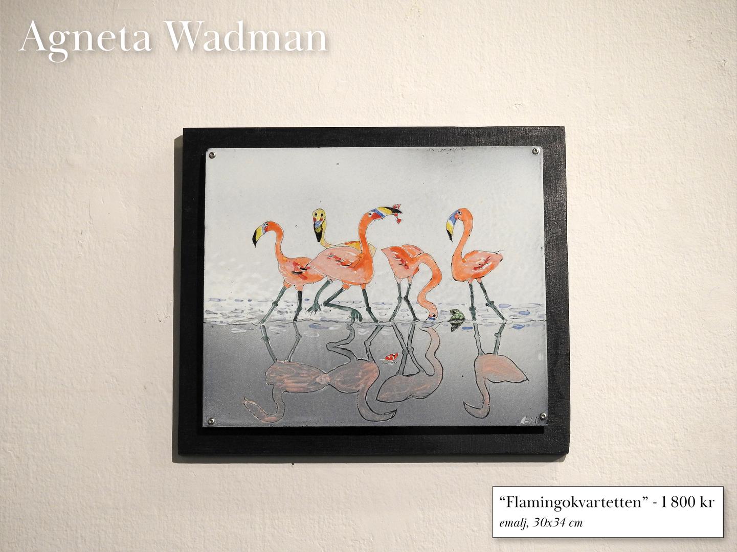 """""""Flamingokvartetten"""""""