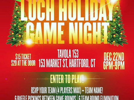 Luch Holiday Game Night