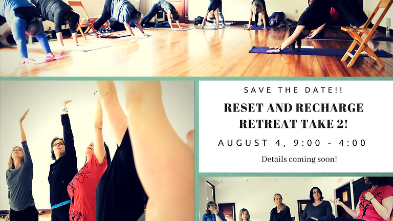 August Reset and Recharge Retreat