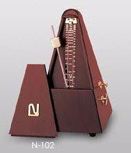 ニッコー木製メトロノーム(マホガニー)