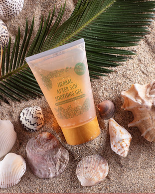 CORALILY HERBAL AFTER SUN COOLING GEL