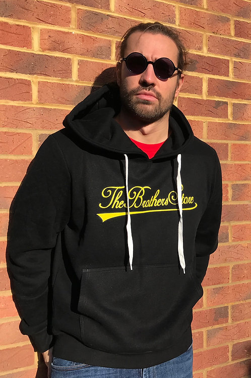 The Brothers Store YELLOW Logo HOODIE