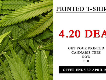 4:20 Print Your T-Shirt Deal at £10