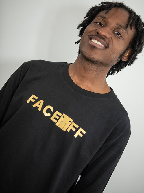 FACEOFF Gold Long Sleeve Tee