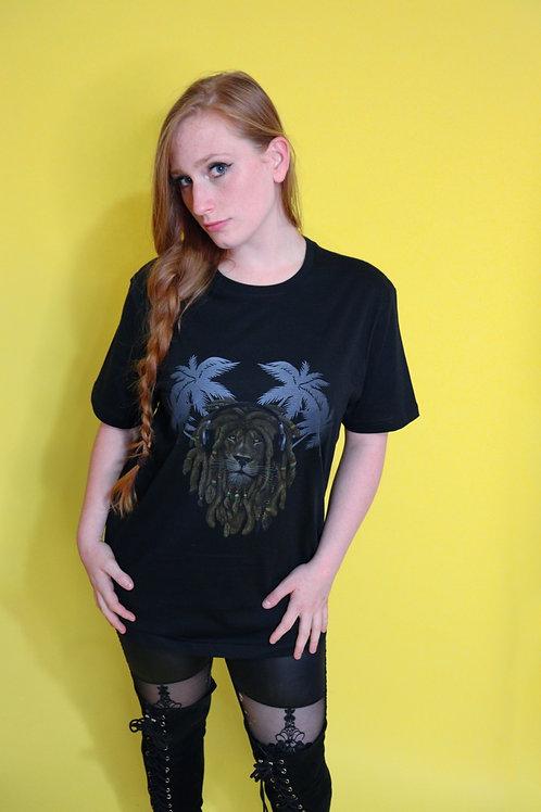 Rasta Lion T-Shirt (unisex)