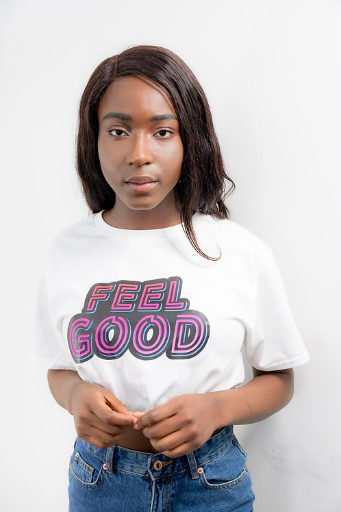 Feel Good Tee(wht)