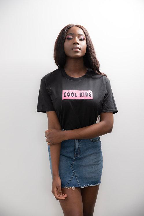 Cool Kids (black tee)