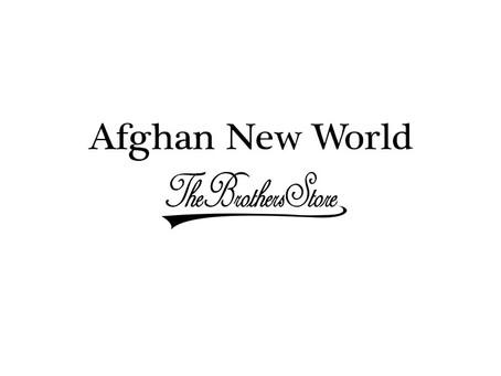 Afghan New World