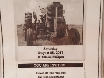 Tractor Show - August 5th 2017