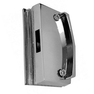 3534 / 1511X Contra Fechadura para Porta de Correr Vidro-Vidro