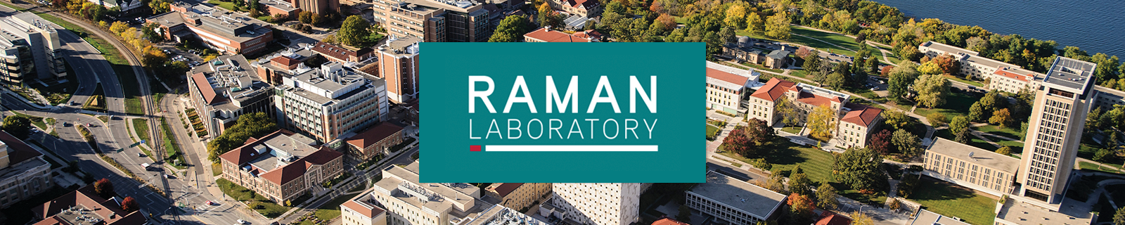 Raman Lab UW Madison Aerial view