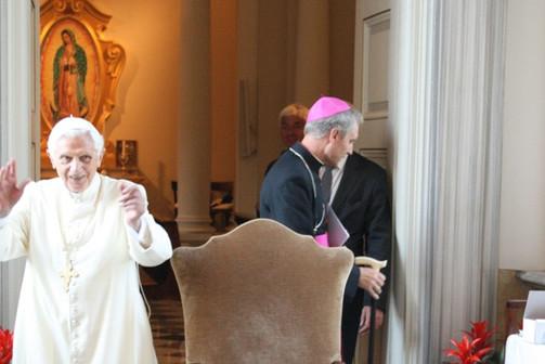 CG_2013_Begegnung mit Papst em. Benedikt