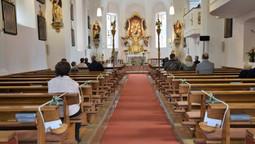 1. Öffentliche Messe seit gut zwei Monaten